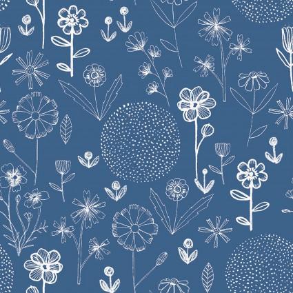 Farm Fresh Blue Print