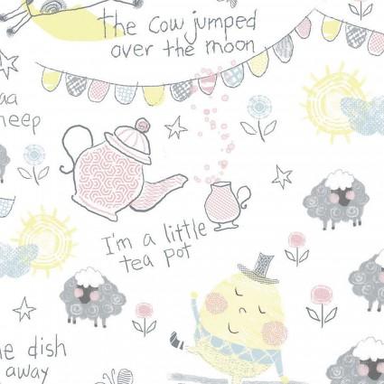 Playful Cuties II Rhyme Words