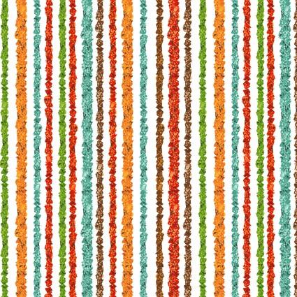 Playful Cuties 4 Flannel Safari Stripe Multi 14925-MULTI