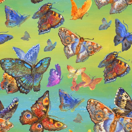 Wings of Joy Multi Butterflies 149610-multi