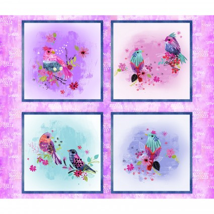 Bright Birds Panel