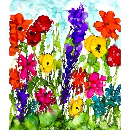 Lovitude - Large Floral Panel