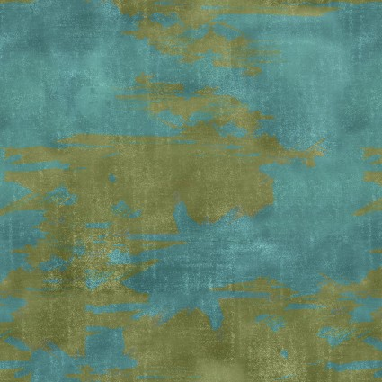 The Great Outdoors Watercolor Blue & Green 16036-BLU