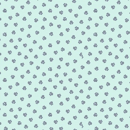 Poochie McGruff - Flannel - Turquoise