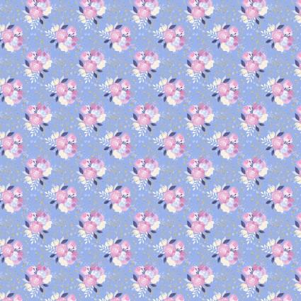Unicorn Utopia Flowers 16571-BLU-CTN-D