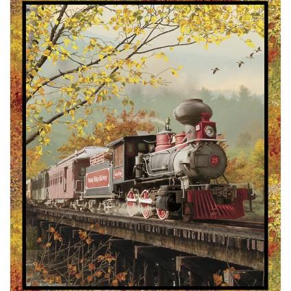Autumn Steam Large Panel