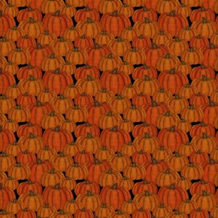 Orange - Pumpkins - Harvest Campers - 3 Wishes Fabrics -  3WI16633-ORG-CTN-D