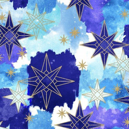 Magical Galaxy Stars Metallic by 3 Wishes