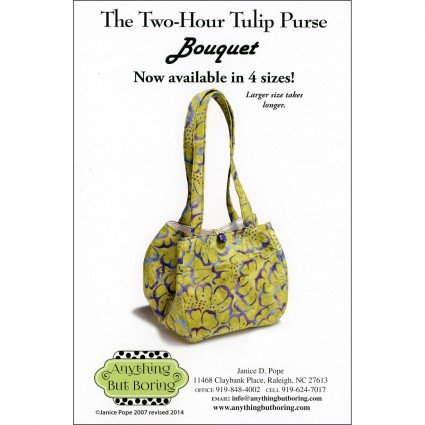 The Two-Hour Tulip Purse
