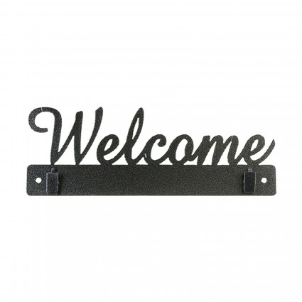 10 Welcome Holder with Clips