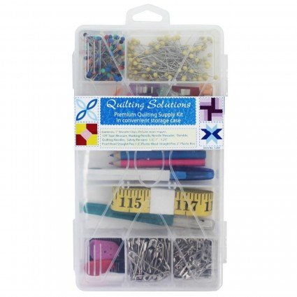 Quilting Solutions Premium Quilting Supply Kit in Case