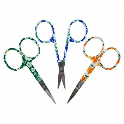 EMBROIDERY SCISSORS ASST FLORAL