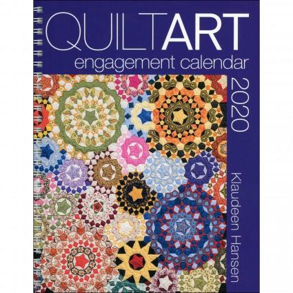 QuiltArt Engagement Calendar 2020