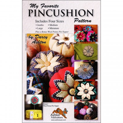 My Favorite Pincushion Pattern by Ashton Publication^