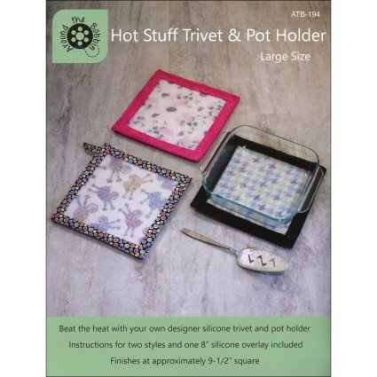 Hot Stuff Trivet and Pot Holder Large