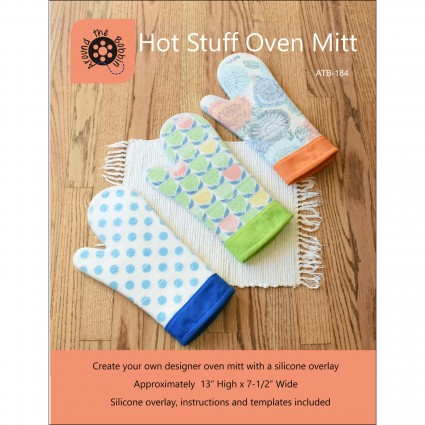 Hot Stuff Oven Mitt - Create Your Own Designer Silicone Oven Mitt