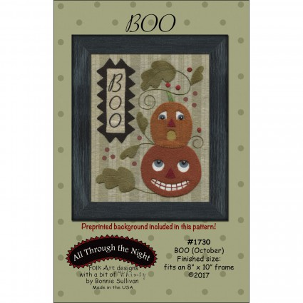 Boo (October) Pattern Only