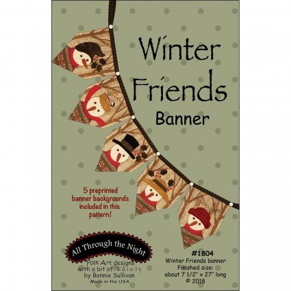 Winter Friends Banner (Pattern Only)
