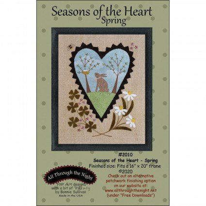 Seasons of the Heart - Spring Bunny