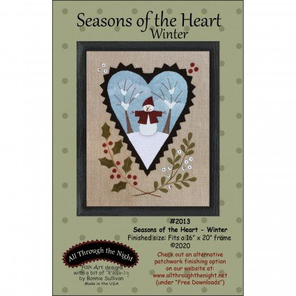 Seasons of the Heart - Winter Snowman