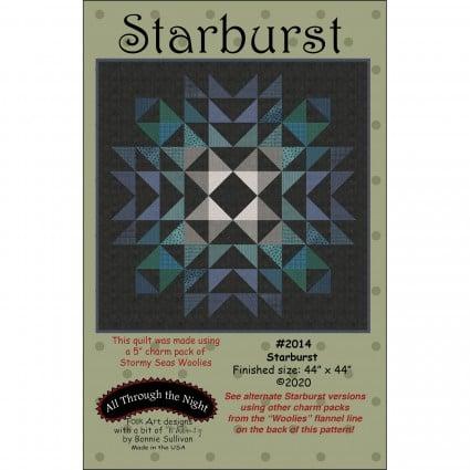 Starburst Quilt Pattern 44 Square by Bonnie Sulliva