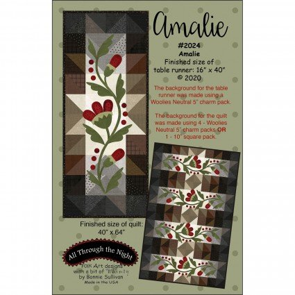 Amalie Pattern #2024 by All Through The Night