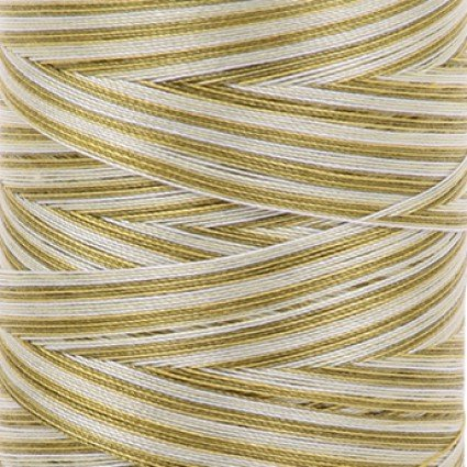 Aurifil Cotton Mako 40 wt Large Spool Variegated Spring Prairie 4653