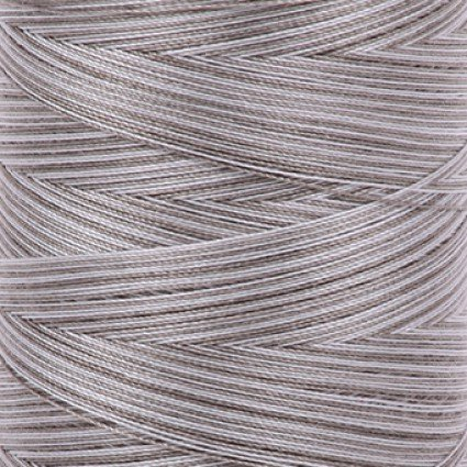 Aurifil Cotton Mako 40 Wt Large Spool Variegated - Silver Fox 4670