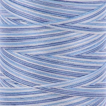 Aurifil Cotton Mako 40 wt  Thread 1094 yards Variegated - Storm At Sea #4655
