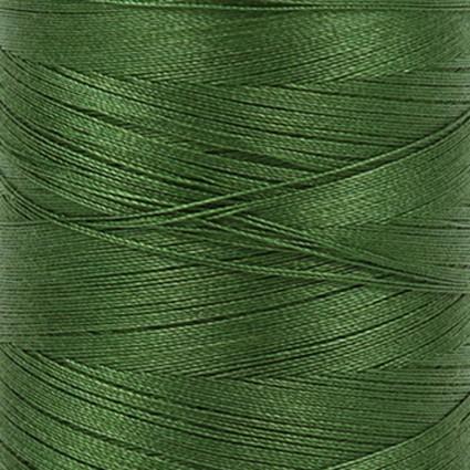 Aurifil Cotton Mako 12 wt - Small Spool - Dark Green Grass - 5018