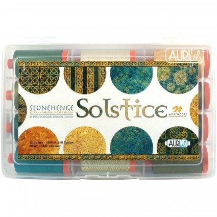 Stonehenge Solstice Anniversary Aurifil Thread