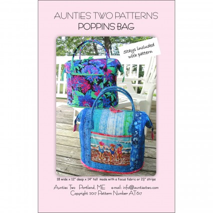 Poppins Bag with 2 Stays