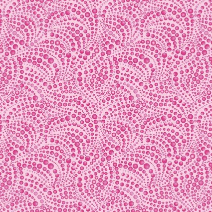 Cat-I-Tude beaded swirl pink color 22