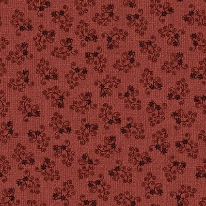 Quilter Barn Prints II Leola Red by Painted Sky Studios
