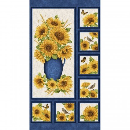 Panel - Accent on Sunflowers 4828