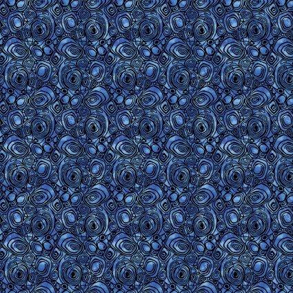 Peacock Flourish Rounded Squares BEN10234-53