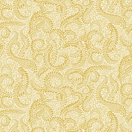 01225-33 Accent on Sunflowers Napa Swirl Light Yellow