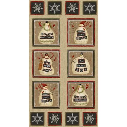 Jingle Bell Time Panel