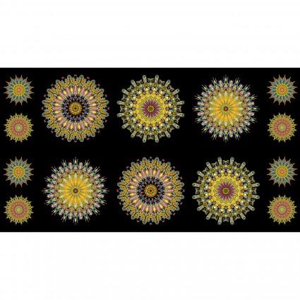 Wonderlust Super Kaleider Panel yellow