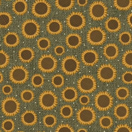 Rustic Fall -  Rustic Sunflower Leaf