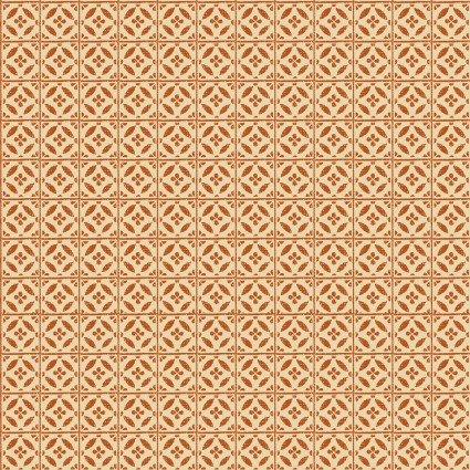 Rustic Fall - Harvest Tile - Orange