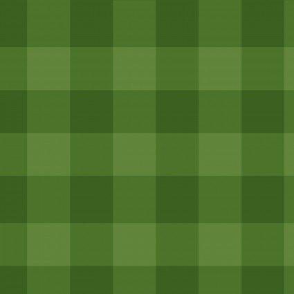 Benartex Art to Heart Better Not Pout Buffalo Check Green Tea Towel