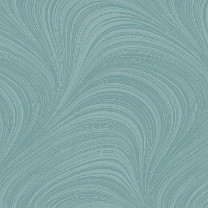 Pearlescent Wave Texture - Teal - jn