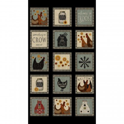 Roost Squares 23 x  42 1/2 Panel