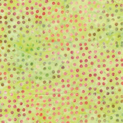 Dots Great Batiks Lemongrass