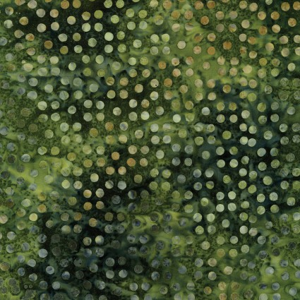 Dots Great Batiks Emerald