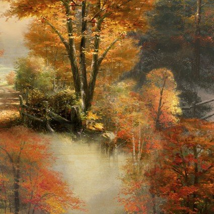 Autumn Colors KINKADE ALLOVER