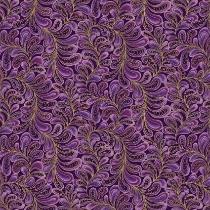 Cat-I-Tude Purple Swirling