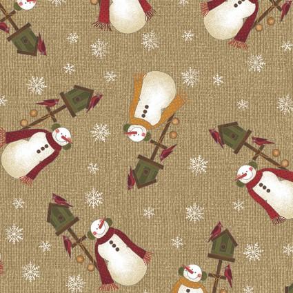 Winter Wonderland - Winter Snowman Tan