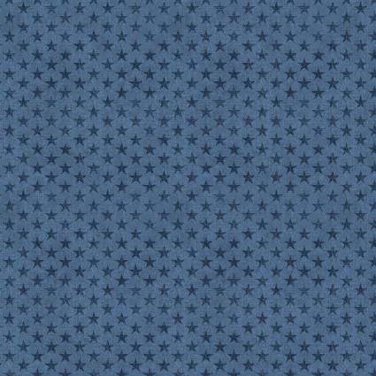 American Rustic Tonal Stars Blue (F10554)